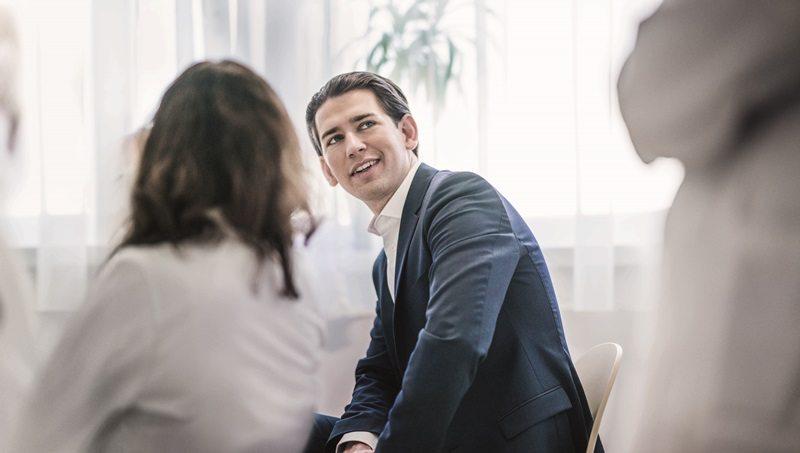 INTERVIEW SEBASTIAN KURZ ___ Bundesminister für Europa, Integration und Äußeres